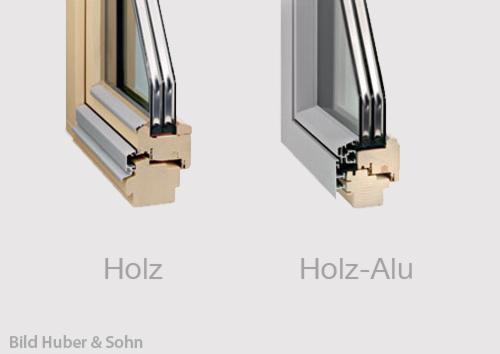 Holzfenster alu fenster kunststofffenster dachfenster for Alu holzfenster