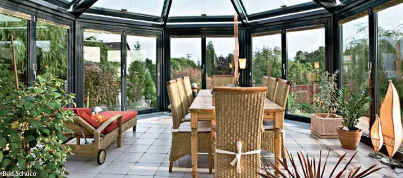 Wintergärten, Terrassenüberdachungen, Balkonverglasungen in ...